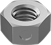Low-Strength Steel Center-Lock Distorted-Thread Locknuts