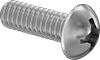 Steel Decorative Round Head Phillips Screws