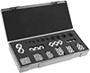 Key-Locking Insert Assortments with Installation Tool