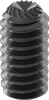 Alloy Steel Knurl-Grip Cup-Point Set Screws