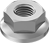 Metric Medium-Strength Steel Flange Nuts—Class 8