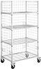 Three-Sided Wire Shelving