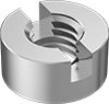 Metric Slotted Round Nuts for Tight Spaces