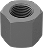Steel High Hex Nuts