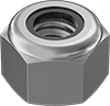 Low-Strength Steel Nylon-Insert Locknuts