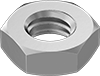 Mil. Spec. 18-8 Stainless Steel Narrow Hex Nuts