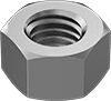 Mil. Spec. 18-8 Stainless Steel Hex Nuts