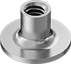 Stainless Steel Round-Base Weld Nuts