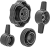 Screw-Head Mount Knob Assortments