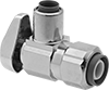Quarter-Turn Shut-Off Valves for Plumbing Fixtures