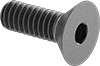 Alloy Steel Hex Drive Flat Head Screws
