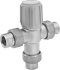 Threaded Temperature-Regulating Valves for Water