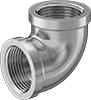 Low-Pressure Chrome-Plated Brass Threaded Pipe Fittings
