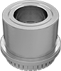 Nylon-Insert Press-Fit Locknuts for Sheet Metal