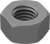 Metric Titanium Hex Nuts