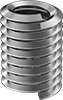 Lubricated Stainless Steel Helical Inserts without Prong