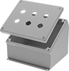 Push-Button Slant-Top Oil-Resistant Enclosures