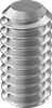 18-8 Stainless Steel Flat-Tip Set Screws