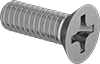 Brass Phillips Flat Head Screws