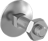 Low-Strength Steel Square-Neck Elevator Bolts