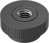 Reinforced Plastic Knurled-Head Thumb Nuts