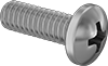 Phillips Rounded Head Screws