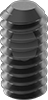 Thread-Locking Flat-Tip Set Screws