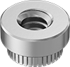 Stainless Steel Press-Fit Nuts for Soft Metal and Plastic
