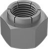 Steel Flex-Top Locknuts for Heavy Vibration