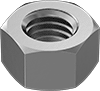 High-Strength Super-Corrosion-Resistant 316 Stainless Steel Hex Nuts for High-Pressure Applications