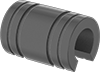 Food-Grade Linear Sleeve Bearings for Support Rail Shafts