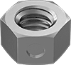 Super-Corrosion-Resistant 316 Stainless Steel Center-Lock Distorted-Thread Locknuts