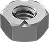 Super-Corrosion-Resistant 316 Stainless Steel Top-Lock Distorted-Thread Locknuts