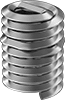 Stainless Steel Screw-Locking Helical Inserts for Particle-Free Environments