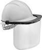 Hard-Hat Mount Face Shields