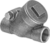 Check Valves with Solder-Connect Fittings