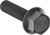High-Strength Metric Class 10.9 Steel Flanged Hex Head Screws