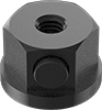 Flanged Push-Button Slide-Adjust Nuts