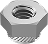 Metric Steel Press-Fit Nuts for Sheet Metal