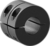 Extra-Wide Clamping Shaft Collars