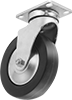 Creston Casters with Rubber Wheels