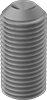Metric Fine-Thread Alloy Steel Cup-Point Set Screws