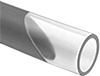 High-Pressure Hard Plastic Tubing for Air and Water