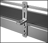 Straight and L-Brackets for Conveyors