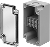 Enclosure-Mounted Terminal Blocks with See-Through Cover