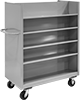 Split-Shelf Partially Enclosed Carts