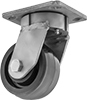 High-Capacity Easy-Roll Corrosion-Resistant Casters with Polyurethane Wheels