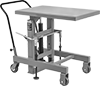 Foot-Operated Mobile Lift Tables for Tight Spaces
