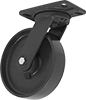 High-Capacity Kingston Casters with Metal Wheels