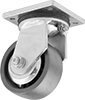 High-Capacity Debris-Guard Casters with Metal Wheels